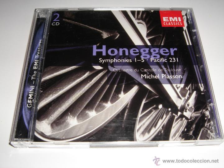 ARTHUR HONEGGER / SINFONÍAS 1-5, PACIFIC 231 / MICHEL PLASSON / EMI CLASSICS / 2 CD (Música - CD's Clásica, Ópera, Zarzuela y Marchas)