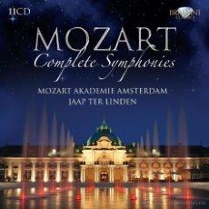 CDs de Música: MOZART * BOX 11 CD * COMPLETE SYMPHONIES * CAJA PRECINTADA. Lote 122100276