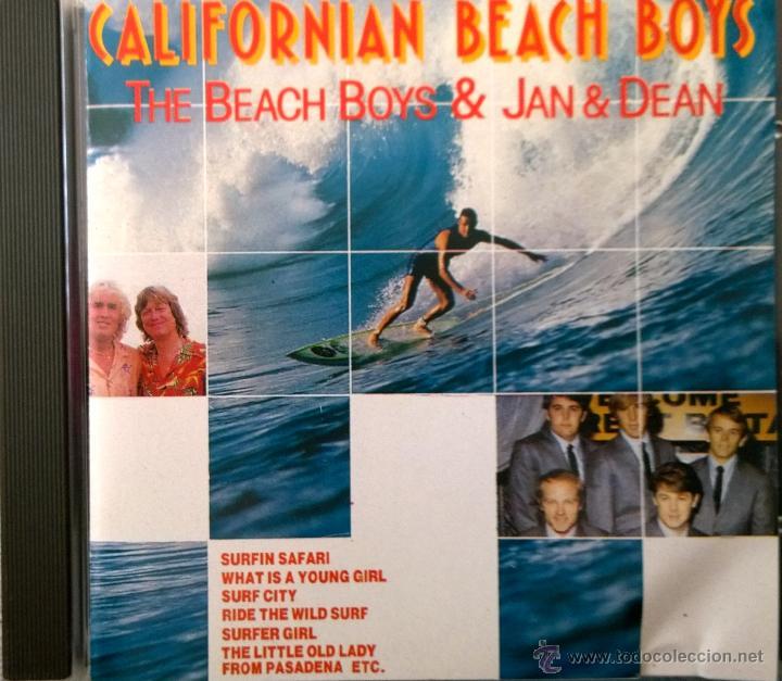 THE BEACH BOYS & JAN & DEAN: CALIFORNIAN BEACH BOYS-14 ÉXITOS. (Música - CD's Rock)