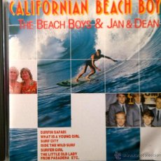 CDs de Música: THE BEACH BOYS & JAN & DEAN: CALIFORNIAN BEACH BOYS-14 ÉXITOS.. Lote 42900921