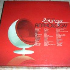 CDs de Música: LOUNGE ANTHOLOGY - CAJA 4 CDS. Lote 42915872