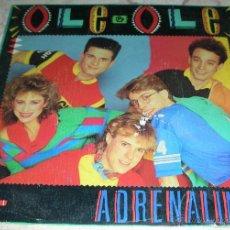 CDs de Música: OLÉ OLÉ - ADRENALINA - SINGLE PROMO - CBS 1984. Lote 42925087