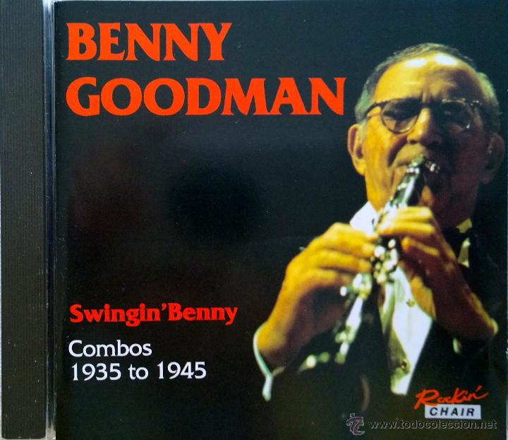 BENNY GOODMAN- SWING' BENNY-COMBOS 1935 TO 1945-18 TRACKS (Música - CD's Jazz, Blues, Soul y Gospel)