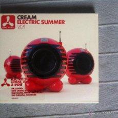 CDs de Música: CD CREAM-ELECTRIC SUMMER V.01. Lote 42947671