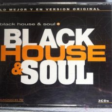 CDs de Música: CD TRIPLE-BLACK HOUSE & SOUL-VARIOS. Lote 42948184