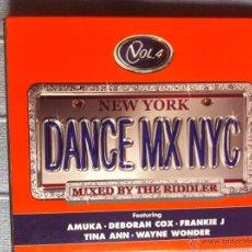 CDs de Música: CD DANCE MIX NYC-VOL.4-VARIOS. Lote 42948448