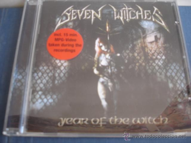 SEVEN WITCHES YEAR OF THE WITCH (Música - CD's Heavy Metal)