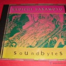 CDs de Música: RYUICHI SAKAMOTO / SOUNDBYTES / DESCATALOGADO / INENCONTRABLE / CD. Lote 42978431
