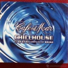 CDs de Música: CD DOBLE-CAFE DEL MAR-CHILLHOUSE MIX 2. Lote 42978631