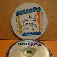 CDs de Música: BOLEROS. CD/ CAJA METÁLICA - ALFA DELTA- 1996. 12 TEMAS. CALIDAD LUJO. LEER. Lote 42980234