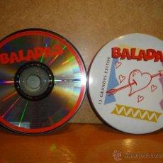 CDs de Música: BALADAS. CD/ CAJA METÁLICA - MANDARIM RECORDS - 1996. 12 TEMAS. CALIDAD LUJO.. Lote 42981486