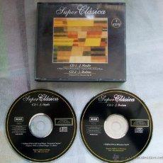 CDs de Música: J. HAYDN / J. BRAHMS 2 CD'S SUPER CLÁSICA / ALFADELTA / AD-0119/20 -. Lote 43006277