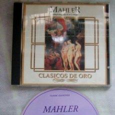 CDs de Música: MAHLER SYMPHONY Nº 4 IN G MAJOR / CD. Lote 43007167
