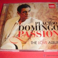CDs de Música: PLÁCIDO DOMINGO / PASSION / THE LOVE ALBUM / EMI CLASSICS / 2 CD. Lote 43009305