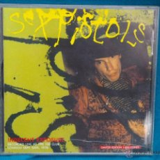 CDs de Música: SEX PISTOLS -INDECENT EXPOSURE-RECORDED LIVE AT THE 100 CLUB SEPT 24TH 1976 .LIMITED EDITION 1000. Lote 43016385