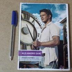 CDs de Música: ALEJANDRO SANZ CON SU INELUDIBLE ÁLBUM : PARAÍSO EXPRÉSS (LIBRO DISCO) 2009. TAPAS DURAS. Lote 43017503