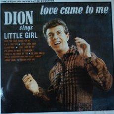 CDs de Música: DION - LOVE CAME TO ME - EDICIÓN DE 1991 DE GERMANY. Lote 43026581