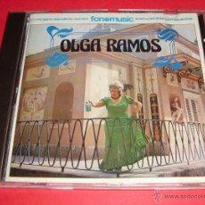 CDs de Música: OLGA RAMOS / LA REGADERA, LA MARIBLANCA ETC. / CD. Lote 43028334