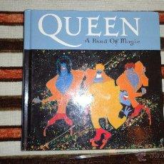 CDs de Música: CD ALBUM + LIBRO - QUEEN – A KIND OF MAGIC - REMASTERIZADO. Lote 43030892