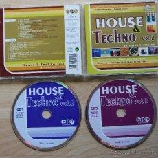 CDs de Música: HOUSE & TECHNO VOL 2 LA MEJOR SELECCION DOBLE CD. Lote 43055216