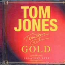 CDs de Música: TOM JONES GOLD GREATEST HITS / CD (2000). Lote 43057463