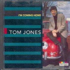 CDs de Música: TOM JONES I'M COMING HOME (CD). Lote 43057481