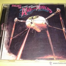 CDs de Música: THE WAR OF THE WORLDS / JEFF WAYNE´S MUSICAL VERSION / HIGHLIGHTS / LA GUERRA DE LOS MUNDOS / CD. Lote 43083847