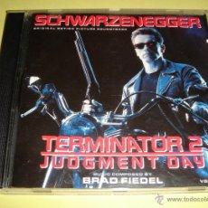 CDs de Música: TERMINATOR 2 / ORIGINAL SOUNDTRACK / BRAD FIEDEL / BANDA SONORA / CD / BSO. Lote 43084119
