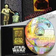 CDs de Música: STAR WARS A NEW HOPE CD LIBRO EDICIÓN ESPECIAL BSO MÚSICA CINE JOHN WILLIAMS GUERRA DE LAS GALAXIAS. Lote 43095783