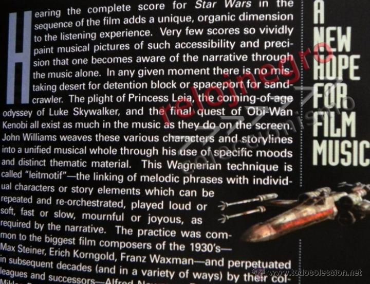 CDs de Música: STAR WARS A NEW HOPE CD LIBRO EDICIÓN ESPECIAL BSO MÚSICA CINE JOHN WILLIAMS GUERRA DE LAS GALAXIAS - Foto 2 - 43095783