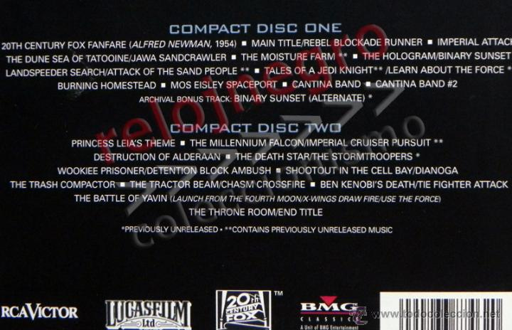 CDs de Música: STAR WARS A NEW HOPE CD LIBRO EDICIÓN ESPECIAL BSO MÚSICA CINE JOHN WILLIAMS GUERRA DE LAS GALAXIAS - Foto 4 - 43095783