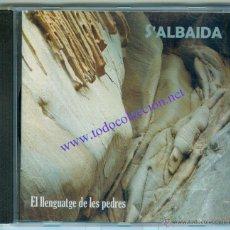 CDs de Música: S'ALBAIDA - EL LLENGUATGE DE LES PEDRES (CD) 2006 - CANÇÓ ILLES BALEARS - MENORCA. Lote 43104263