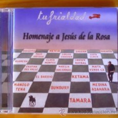 CDs de Música: HOMENAJE A JESÚS DE LA ROSA - TU FRIALDAD- VARIOS (CD) 2000 FONOMUSIC. Lote 43106245