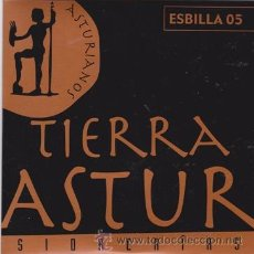 CDs de Música: TIERRA ASTUR (L'AGUAÑAZ 2005) (FUNDA DE CARTÓN). Lote 43141747