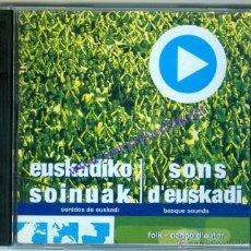 CDs de Música: EUSKADIKO SOINUAK - SONS D'EUSKADI (CD) 2004 - VARIOS CANTANTES Y GRUPOS. Lote 43143201