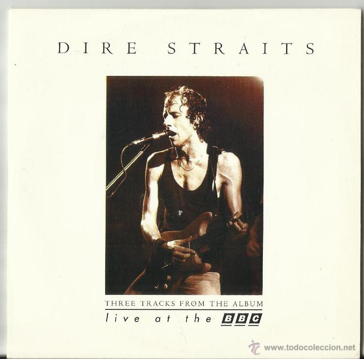 DIRE STRAITS CD MAXI LIVE AT THE BBC 3 TEMAS 1995 (Música - CD's Rock)