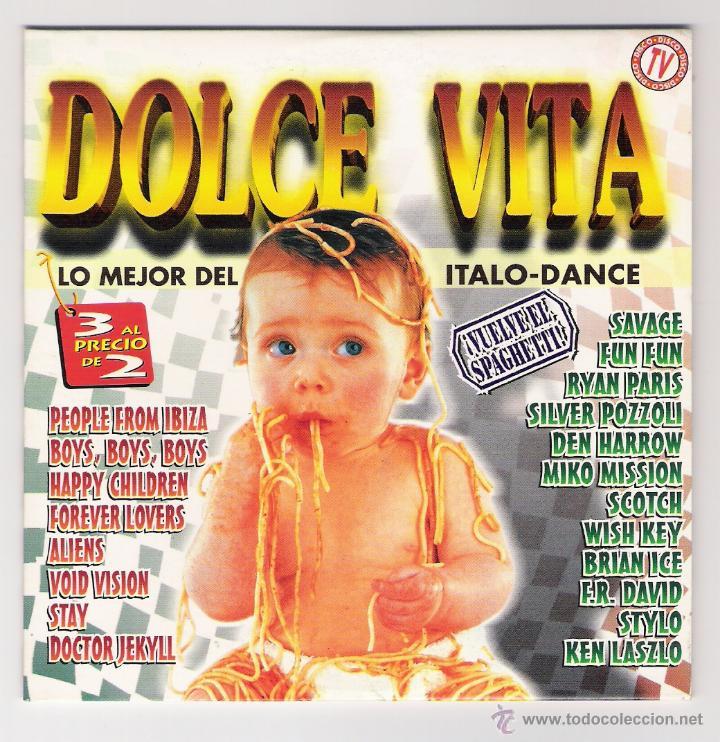 CD PROMO DOLCE VITA VOL.1 1997 (4 TRACKS) (Música - CD's Disco y Dance)