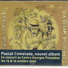CDs de Música: PASCAL COMELADE - A FREAK SERENADE - CD BECAUSE 2009 NUEVO. Lote 43146238