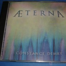 CDs de Música: CONSTANCE DEMBY / AETERNA / HEARTS OF SPACE / CD. Lote 43155230