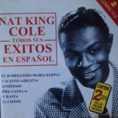 CDs de Música: NAT KING COLE - SUS EXITOS EN ESPAÑOL - EDICIÓN DE 1998 DE ESPAÑA - DOBLE. Lote 43162799