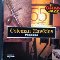 CDs de Música: COLEMAN HAWKINS- PICASSO- 12 TRACKS. Lote 43164369
