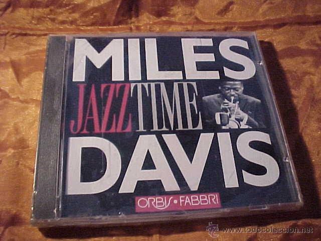 MILES DAVIS. JAZZ TIME. CD PRECINTADO (Música - CD's Jazz, Blues, Soul y Gospel)