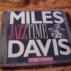 CDs de Música: MILES DAVIS. JAZZ TIME. CD PRECINTADO. Lote 103795375