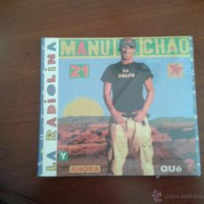 CDs de Música: CD NUEVO PRECINTADO MANU CHAO LA RADIOLINA 21 TEMAS MÚSICA ALTERNATIVA INDEPENDIENTE. Lote 43223321