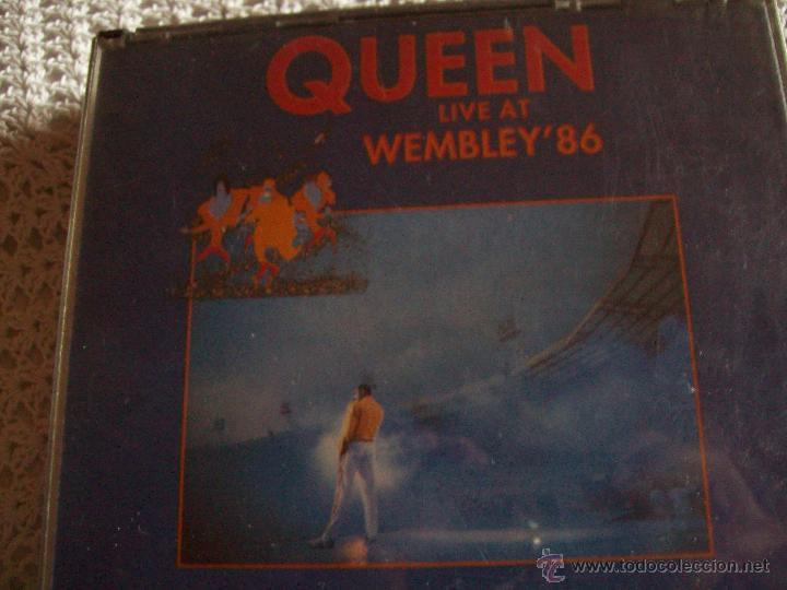 CD'S QUEEN LIVE AT WEMBLEY'86 (Música - CD's Rock)