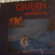 CDs de Música: CD'S QUEEN LIVE AT WEMBLEY'86. Lote 43223960