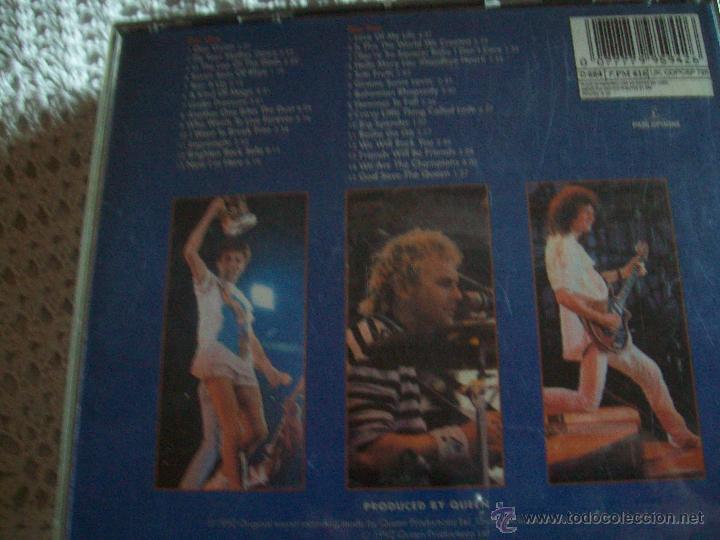 CDs de Música: CD's QUEEN Live at Wembley'86 - Foto 2 - 43223960