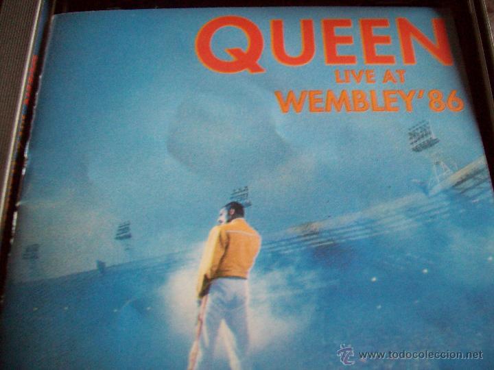 CDs de Música: CD's QUEEN Live at Wembley'86 - Foto 6 - 43223960