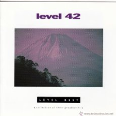 CDs de Música: LEVEL 42 - LEVEL BEST - CD. Lote 43234263