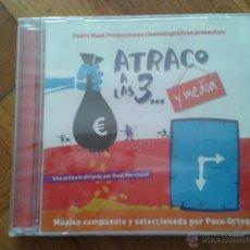 CDs de Música: CD NUEVO PRECINTADO BANDA SONORA ORIGINAL CINE ESPAÑOL ATRACO A LAS TRES Y MEDIA PEDRO MASÓ MARCHAND. Lote 48305545
